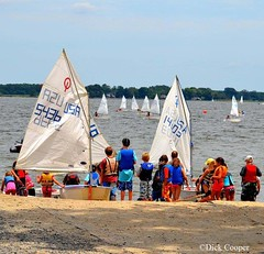 Junior Sail on the Miles River, © Dick Cooper