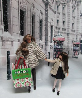 Christmas Shopping!   by Land of Dolls