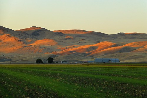 road sunset field dusk farm farmland september idaho fields indianhead weiser 2014