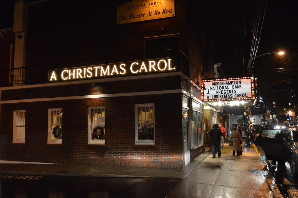 A Christmas Carol By Charles Dickens At Theatre Three In T Flickr