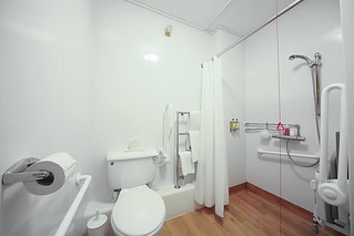 Mobility bathroom in Polden Court   University of Bath   Flickr on