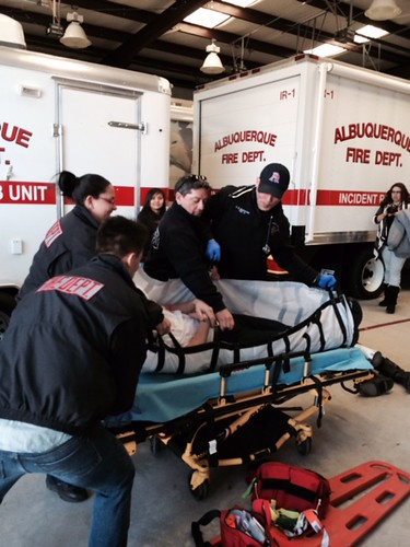 AFD Paramedics & APS Students Participate in Disaster Drills