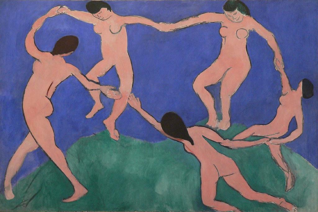 La danse (first version) by Henri Matisse, 1909