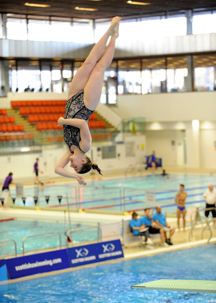 Scottish Gas National Diving Championships And Thistle Tro