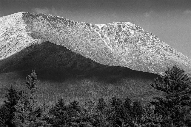 Afternoon Shadow on Mt. Katahdin