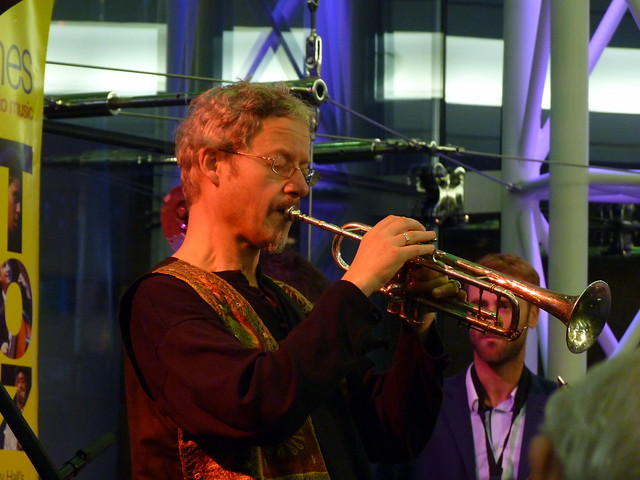 Bristol European Jazz Ensemble. Jazzlines. Symphony Hall. 28th Nov 2014. P1650100