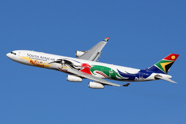 ZS-SXD | Airbus A340-313 | South African Airways