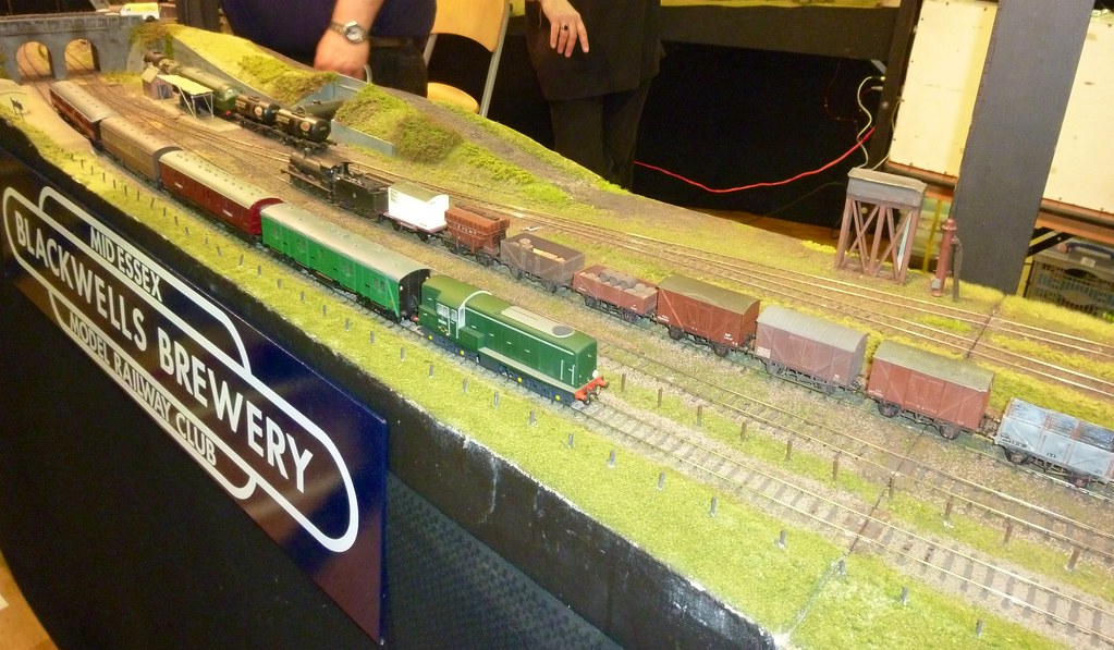 Blackwell Brewery Company 4mm scale EM gauge layout from Mid Essex MRC