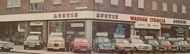 Wadham Stringer 1975 - Austin House, 76 Brixton Hill, London SW2 - Practical Motorist 6/75
