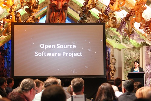 Brenda Wallace introduces the Open Source Software Project award | by 4nitsirk