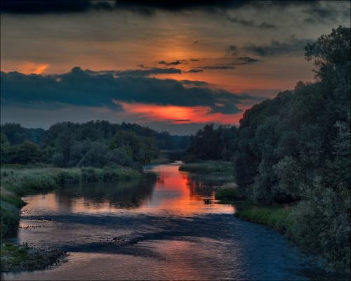 sunset panorama ontario canada landscape gimp conestogo waterlooregion conestogariver microsoftice oloneo olympusomdem5
