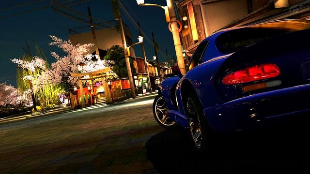Dodge Viper GTS Japan Kyoto Gion