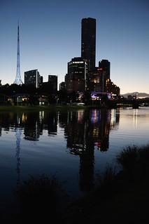 Yarra reflections, Melbourne | by Joe Lewit