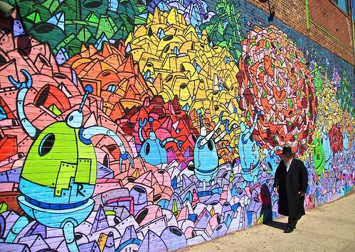 R.Robots mural - Williamsburg - Brooklyn - New York | by ric_burger