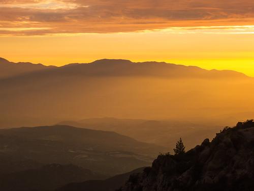 winter sunset orange nature clouds canon landscape hiking january powershot hills peaks southerncalifornia hps s100 riversidecounty cahuillamountain hundredpeakssection