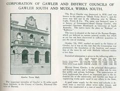 Gawler, Gawler South and Mudla Wirra South - Civic Record SA Councils 1921 - 1923 (1)