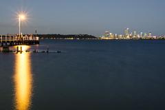 Applecross jetty at night