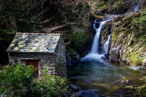 longexposure water waterfall stream lakes lakedistrict ambleside groto cumbia