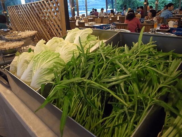 <p>新鮮な野菜がいっぱい</p>