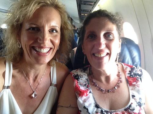 Mari & Moira - en route to Vancouver from Castlegar, BC | by Mari Smith