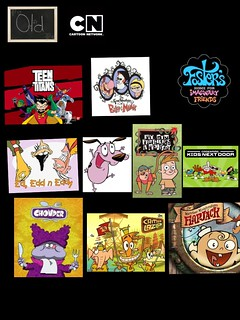 My top 10 favorite old Cartoon Network shows (top to botto