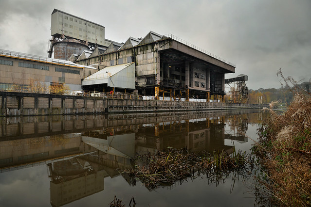 TATA Wallerscote Island soda ash factory, Northwich