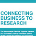 Connecting business to research / Rapprocher le secteur privé et la recherche