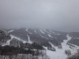 Tremblant peak from halfway down