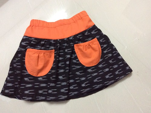 'A-line' skirt from Yuki Araki's book Sew Sweet Handmade Clothes For Girls