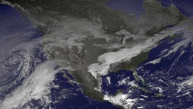 Cold Weather in the North Central U.S. Moving East (2014)