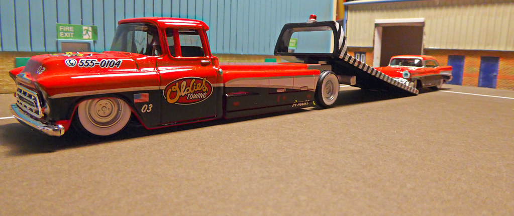1957 Chevrolet Custom Flatbed Truck 1957 Bel Air Flickr