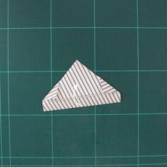วิธีทำหรีดห้อยหน้าประตูสำหรับวันคริสต์มาส (Christmas wreath origami and papercraft) 013