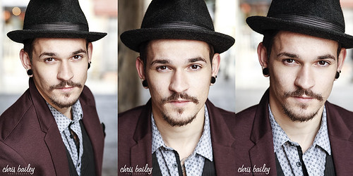 New head shots of Kym Irvine | by Chris Bailey Photographer