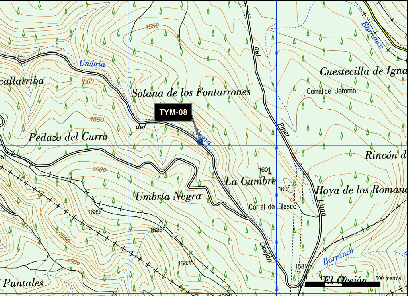 TYM_08_M.V.LOZANO_FONTARRONES II_MAP.TOPO 2