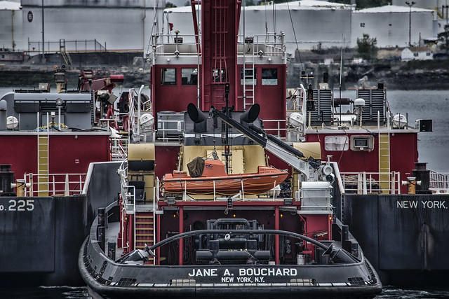Tug Jane A Bouchard--Detail