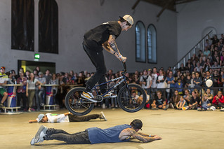 Bike Days 2016 – BMX Flatland vs Kunstrad | by Bike Days Schweiz