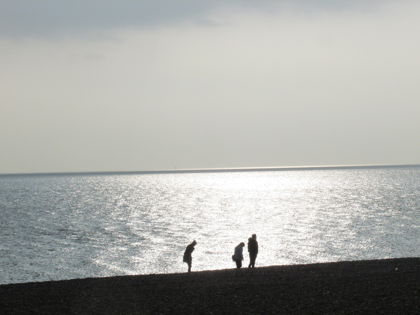 April 6, 2015: Glynde to Seaford Seaford beach