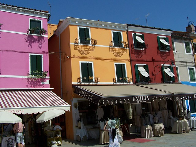 Burano - Colored City - Italy