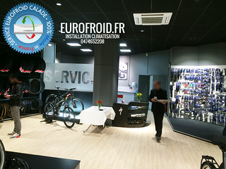 installateur-climatisation-magasin-commerce-lyon-villefranche | by Eurofroid