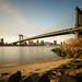 The Manhattan Bridge by Gary Walters
