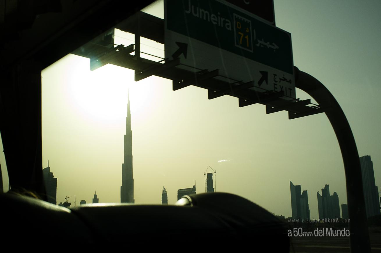 Dubai, sin bajarse del autobús (2/3)