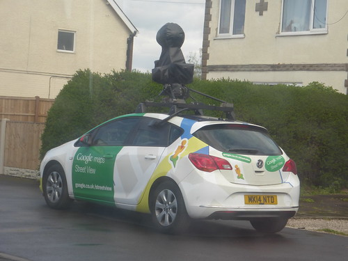 Google Maps Street View car - MK14 NTD