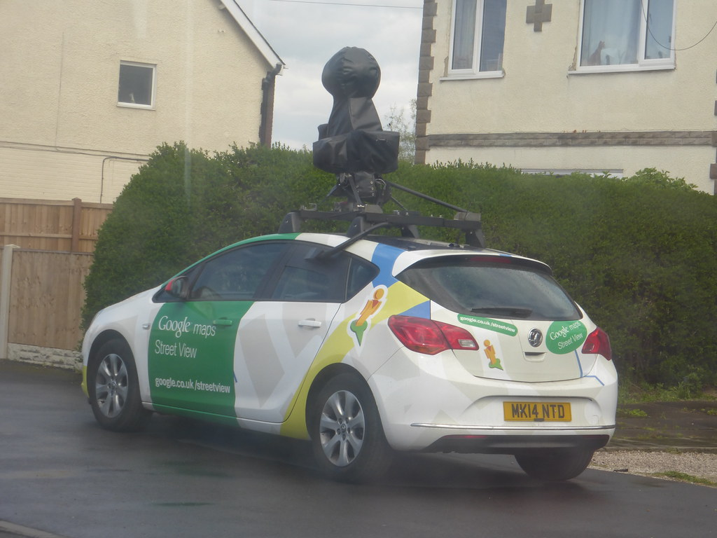 Google Maps Street View Car Mk14 Ntd How Lucky Was This Flickr