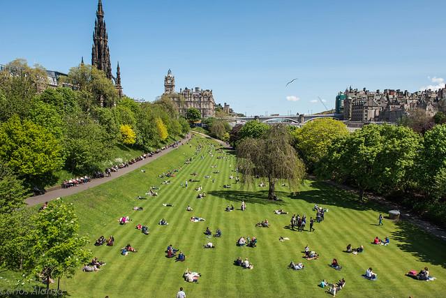 Callejeando por Edimburgo
