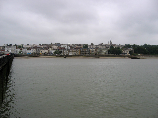 Ryde from the pier