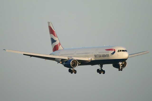 British Airways - Boeing 767-336 G-BNWC @ Manchester