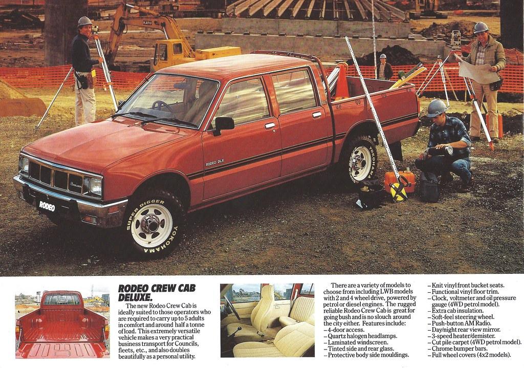 1985 Holden Rodeo | Isuzu KB under one of many different nam