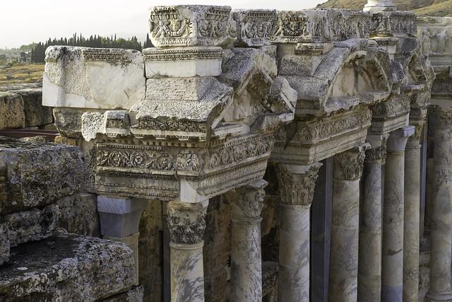 Hierapolis: The Roman Theater – IX: The Scaenae