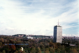 """Beograd, poslovni centar """"Ušće"""", novembar 1998 godine."""