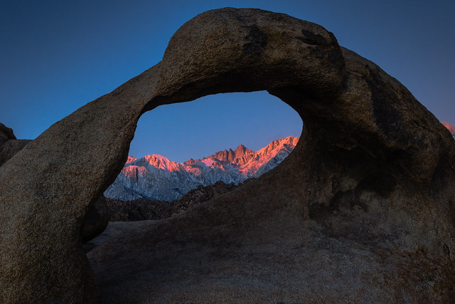 Road Trip - Sunrise The Arch and Mount Whitney 2015_02-004